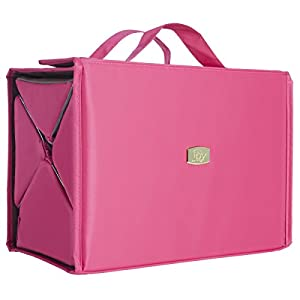 Joy Mangano Deluxe XL Bbc Beauty Case, Fuchsia