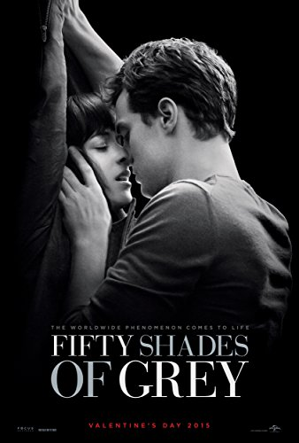 WMG Fifty Shades of Grey - Movie Poster (Thick) (Size: 24 x 36) Jamie Dornan, Dakota Johnson