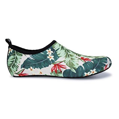 Fleur Nus Chaussettes Nage À Joinfree Pieds Hommes Aqua Séchage Chaussures Summer Femmes Water Aapide Shoes Yoga nFZ0q