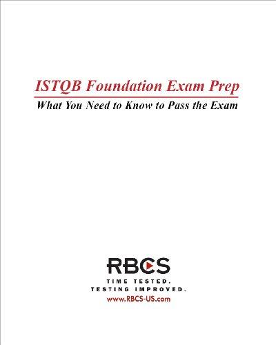 Download ISTQB Foundation Exam Preparation Guide Pdf