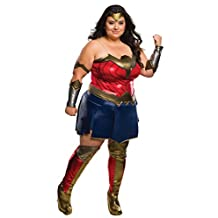 Plus Size Adult Batman V Superman: Dawn of Justice- Deluxe Wonder Woman Curvy Co