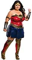 Rubie's Women's Batman v Superman: Dawn of Justice Deluxe Wonder Woman Plus Size