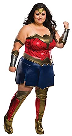 Plus Sized Wonder Woman Costume  sc 1 st  For Big And Heavy People & The Best Plus Size Superhero Costumes For Women | For Big And Heavy ...
