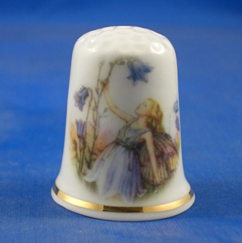 Porcelain China Collectable Thimble Harebell with Free Gift Box