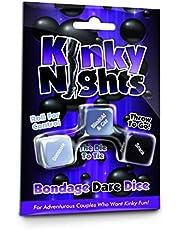 Creative Conceptions, Kinky Nights, Bondage Dare, dobbelspel volwassenen spel voor koppels (in het Engels). Grappig, intiem, spannend en brutaal, CCKND.