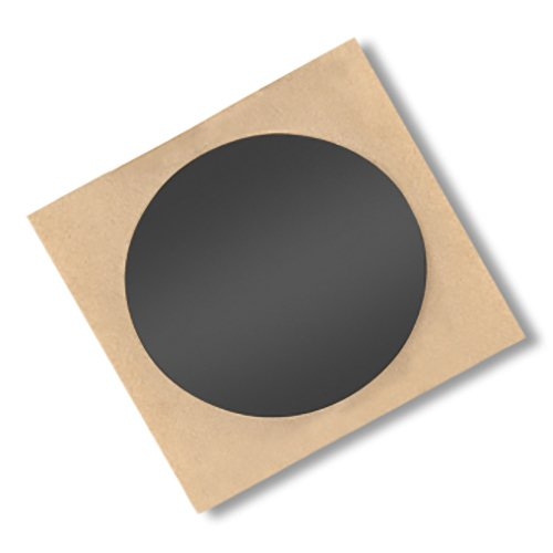 Pack of 100 3 Diameter Circle 3M 850B CIRCLE-3-100 3M 850B Polyester Film Tape 3 Diameter Circle Pack of 100