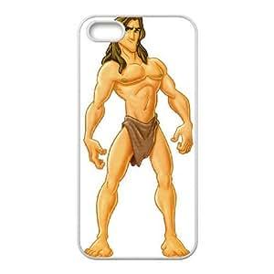 iPhone 5,5S Phone Case White Tarzan AXF518061
