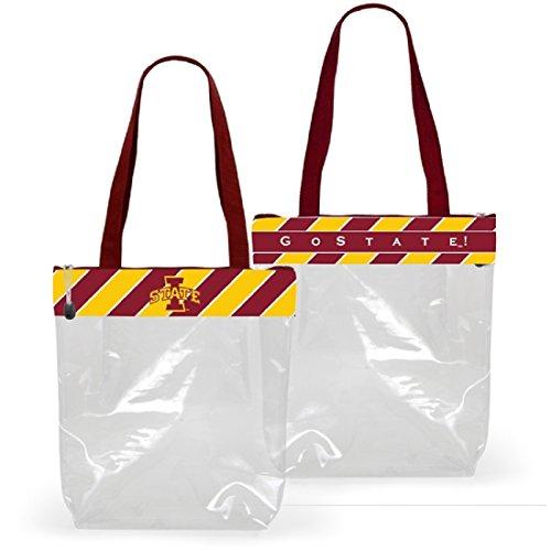 Desden Iowa State Cyclones Clear Gameday Stadium Tote Bag by Desden