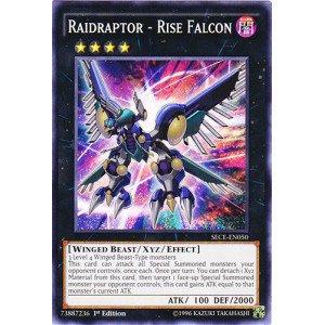Amazon.com: Yu-Gi-Oh! - Raidraptor - Rise Falcon (SECE-EN050 ...