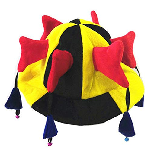 LONIY Halloween New Colorful Clown Hat Funny Circus