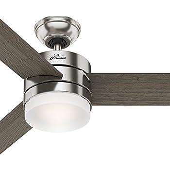 Casablanca 59068 Bullet 54 Inch Brushed Nickel Ceiling Fan