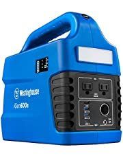 Westinghouse Outdoor Power Equipment iGen160s Portable Power Station and Outdoor Generator 150 Peak 100 Rated Watts