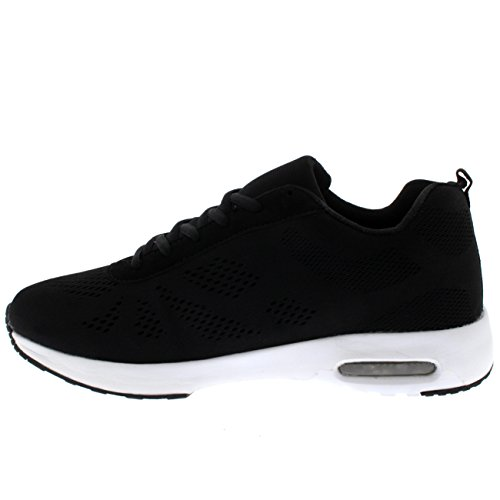 Fitness Blanc Fit De Get Sports Course Air Pied Baskets Noir Bubble UXvnfawq