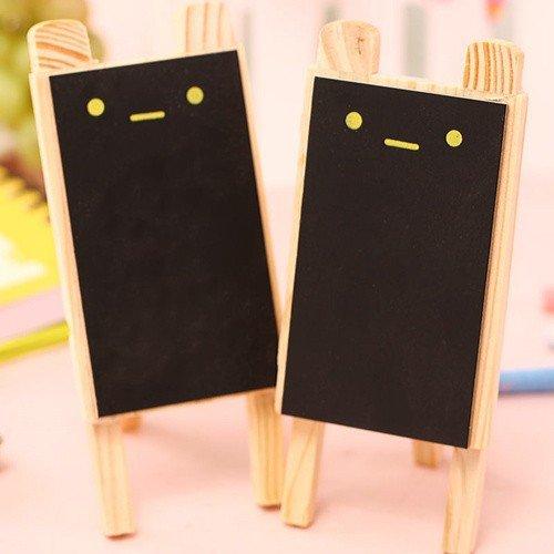 Amazon.com : Mini Rabbit Black Board Small Blackboard Wooden ...
