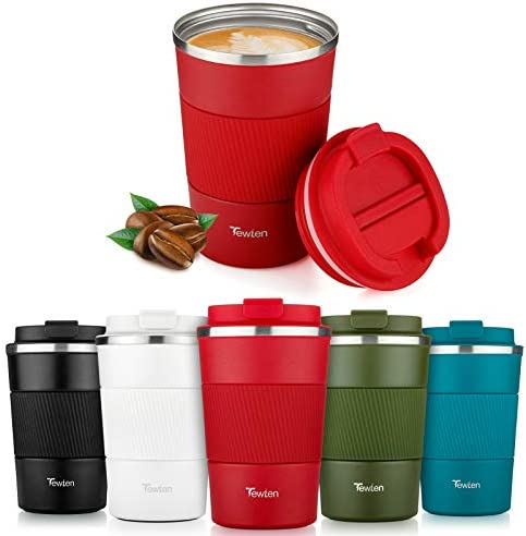 Taza de café para Llevar,TEWLEN Taza de