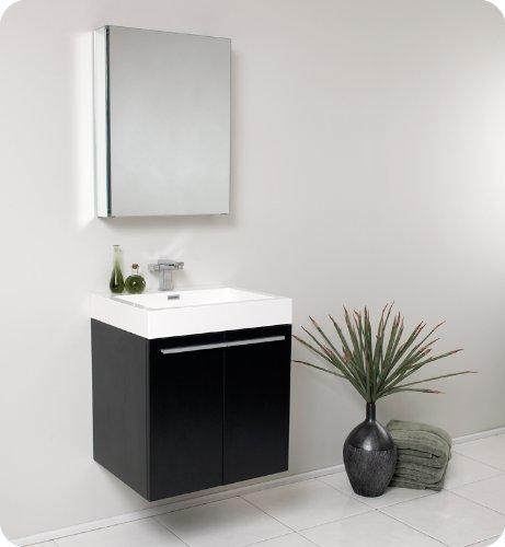 41d33jmXF2L - Alto Modern Bathroom Vanity with Medicine Cabinet