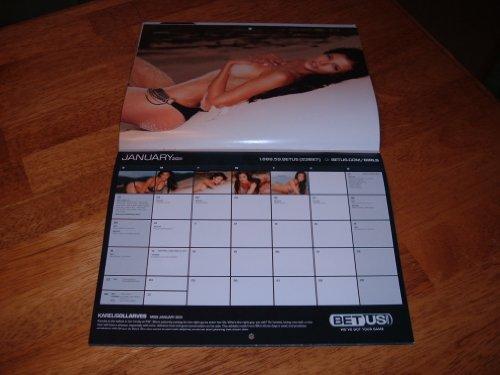 Planner 2010 Wall Calendar - 2011 BETUS.COM 2010/2011 Swimsuit Wall Calendar 12