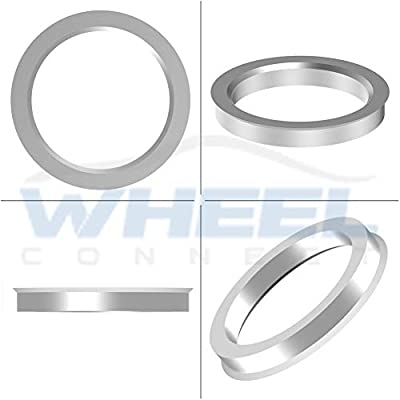 WHEEL CONNECT Hub Centric Rings, Set of 4,Aluminium Alloy Hubrings, Fit Both Wheel CB 77.8 and 78.1mm,O.D:77.8mm I.D 71.50mm. A: Automotive