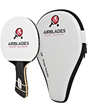 AirBlades - Professional Ping Pong Paddle for Beginner/Intermediate/Advance Players -Table Tennis Paddle Featuring Ergonomic Slope Handle Design - Inc Ping Pong Racket Case