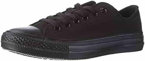 Converse Unisex Chuck Taylor All Star Low Top Black Sneakers - 7.5 B(M) US Women / 5.5 D(M) US Men