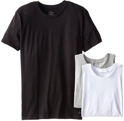 d83298325af Calvin Klein Men s 3-Pack Cotton Classic Short Sleeve Crew Neck T-Shirt -  Buy Online in Oman.