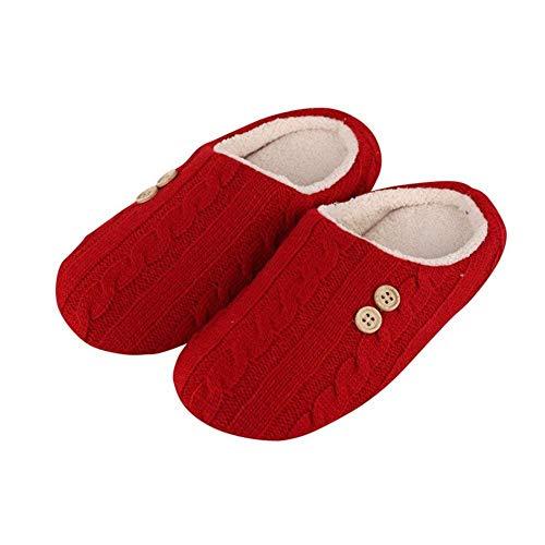 Anti scivolo Per Calore Donna Twist Libero E Il Tempo Sed Pantofole Inverno Uomo 39 Eu Maglieria p1WCc