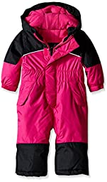 iXtreme Baby Girls\' One Piece Snowmobile, Berry, 18 Months