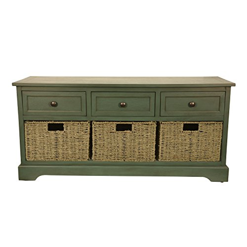 Décor Therapy FR6298 Bench, Antique Teal