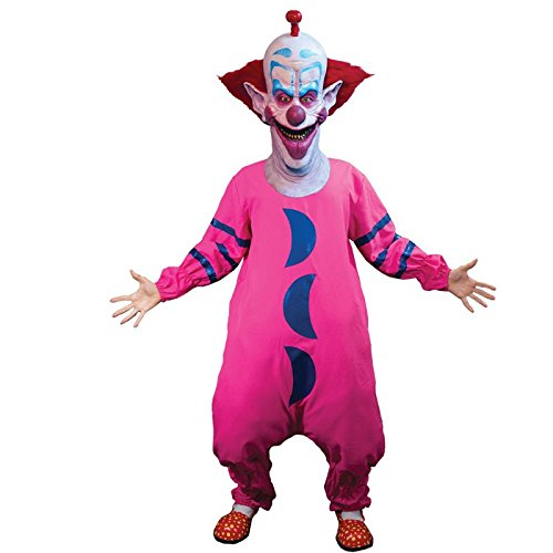 Outer Space Costumes (Trick or Treat Studios Men's Killer Klowns From Outer Space-Slim Costume, Multi, One Size)