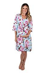 Wrap yourself in style during pregnancy and beyond. Our Robes are the perfect style accessory. Pack one in your bag for your hospital stay, pop it on for those first pictures with baby, and keep it handy for postpartum visitors. Feminine and ...