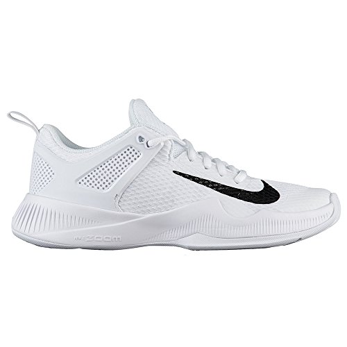 NIKE Women's Wmns Air Zoom Hyperace, White/Black, 5 M US by NIKE