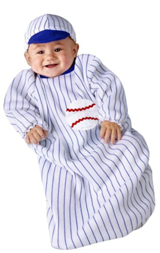 Baby Baseball Player Bunting Halloween Costume