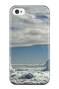 For Iphone 4/4s Protector Case Sky Earth Phone Cover