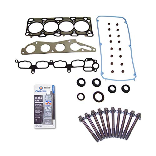 Head Gasket Set Bolt Kit Fits: 04-12 Mitsubishi Eclipse Lancer 2.4L SOHC 16v 4G69