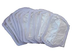 10 Commercial Windsor 14872 BackPack Vacuum Cleaner Allergy Bag Model VP VPP VPH, replaces OEM part numbers 14872, 14804, 14803 (cloth bag)