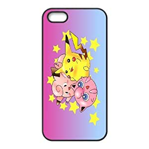 [AinsleyRomo Phone Case] For Apple Iphone 5 5S Cases -Pockmon Pikachu Pattern-Style 3