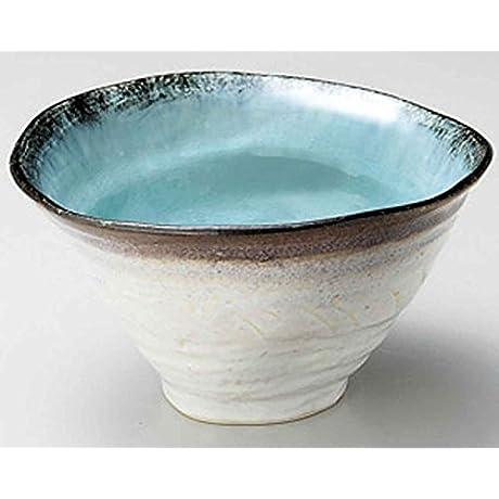Sky Kannyu 8 3inch Set Of 5 Large Bowls Blue Porcelain Made In Japan