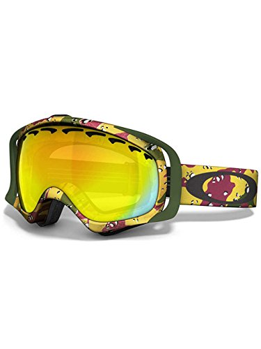 Oakley Crowbar Tanner Hall Signature Series Snow Goggle with Fire - Signature Crowbar