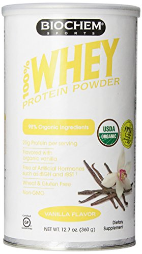 100% Whey Organic Protein Vanilla Flavor 12.70 Ounces