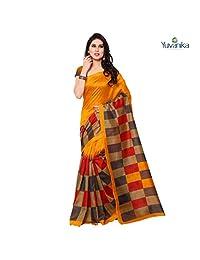 Ethnicfashionista Bhagalpuri Silk Designer Saree syuvef000105