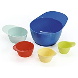 Kaiser Bakeware Bake and Play 5-Piece Mixing/Measuring Set