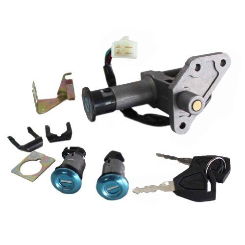 Newmotoz 50cc 125cc 150cc Chinese Gy6 Moped Motorcycle Scooter Pack of Key Ignition Switch Lock Set