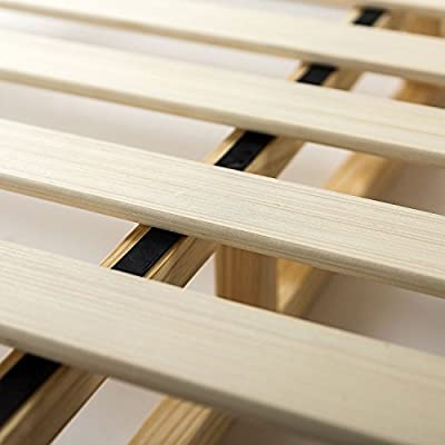 Zinus 4 Inch Low Profile Wood Box Spring/ Mattress Foundation, Twin