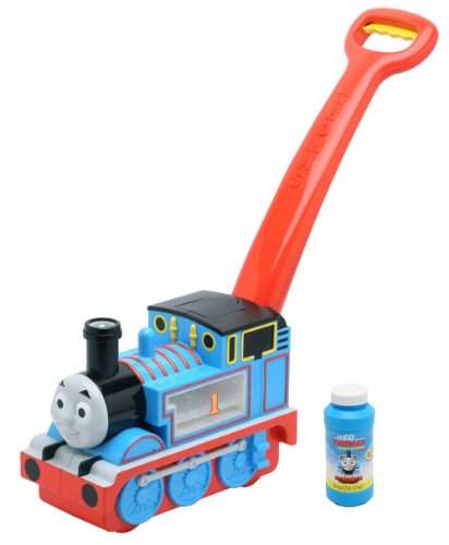 (Imperial Toy All Aboard Thomas Go Bubbles, Blue)