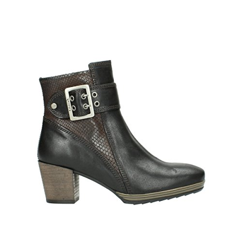 Wolky 8026 nbsp;Hopewell Botas Leather 530 Oiled Brown Media Alta rAZtwnrq