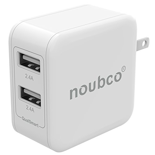 Noubco Dual USB Wall Charger Only $3