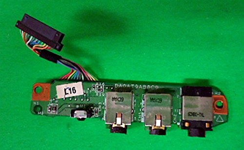 Generic Brand for OEM HP Pavilion DV9000 Audio Jack Board w/ Cable Dv9000 Audio