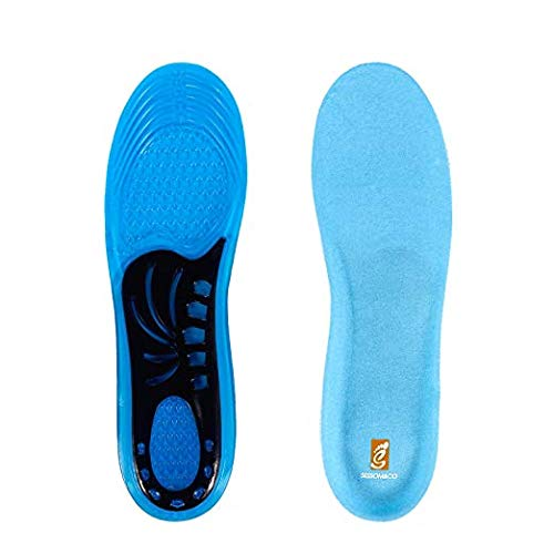 452f8f2acc1816 Royalkart Sports Gel Insoles and Shoe Inserts for Women and Men Comfort  Shoe Insoles Arch support