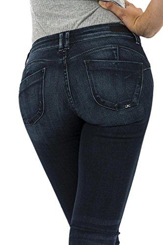 jeans Le Temps Des Cerises pulp bleu