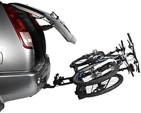 Portabicicletas adorno norauto antirrobo y inclinable 2 bicicletas ...